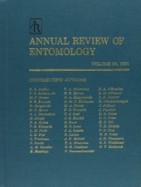 Annual Review of Entomology