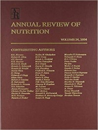 Annual Review of Nutrition
