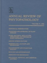 Annual Review of Phytopathology