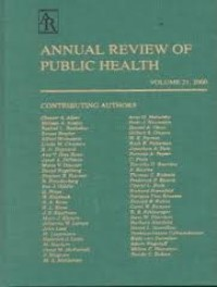 Annual Review of Public Health