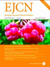 European Journal of Clinical Nutrition